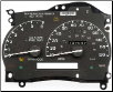 1996 - 1997 Ford Explorer & Ranger; 1997 Mercury Mountaineer Instrument Cluster Repair (SKU: F67F17A275AA)