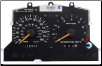 1995 - 1998 Ford Mustang GT Instrument Cluster Repair (2 Gauge, 150 MPH) (SKU: F6ZF17C290LA)