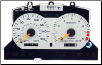 1996 - 1998 Ford Mustang SVT Cobra Instrument Cluster Repair (White, 160MPH) (SKU: F6ZZ17255FA)