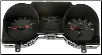 2004 - 2005 Ford Mustang Instrument Cluster Repair (w/o Traction Control, 4 Gauge, 120 MPH, 7000 RPM) (SKU: 5R3310849AC)