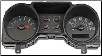 2004 - 2005 Ford Mustang Instrument Cluster Repair (4.0L, 6 Gauge, 120 MPH, 7000 RPM) (SKU: 5R3310849EC)