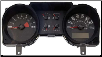 2004 - 2005 Ford Mustang Instrument Cluster Repair (4.6L, 6 Gauge, 120 MPH, 8000 RPM) (SKU: 5R3310849GC)