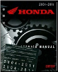 2004 - 2011 Honda CRF50F Factory Service Manual (SKU: 61GEL56)