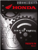 2005 - 2013 Honda TRX250TE & TRX250TM Recon Factory Service Manual (SKU: 61HM857)