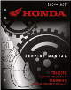 2004 - 2007 Honda TRX400FA, TRX400FGA, Fourtrax, Rancher Factory ATV Service Manual (SKU: 61HN703)
