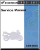 1996 - 2013 Honda CMX250C Rebel Service Manual (SKU: 61KEN15)