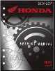 2004 - 2007 Honda CN250 Helix Factory Service Repair Workshop Manual (SKU: 61KFR03)