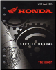 2002 - 2008 Honda VTX1800 C/F Factory Service Manual (SKU: 61MCH06)