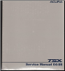 2004 - 2008 Acura TSX Factory Service Manual (SKU: 61SEA04)