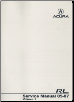 2005 - 2007 Acura RL Factory Service Manual - 2 Volume Set (SKU: 61SJA02)