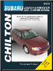 2000 - 2009 Subaru Legacy & 2000 - 2008 Forester, Chilton's Total Car Care Manual   (SKU: 1620920220)