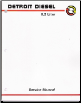 1981 - 1998 Detroit Diesel 8.2L Fuel Pincher Service Manual (SKU: 6SE421)