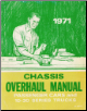 1971 Chevrolet Chassis Overhaul Manual- Chevelle, Monte Carlo, Nova, Camaro, Corvette and 10-30 Series Trucks (SKU: ST33371)