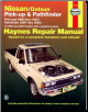 1980 - 1997 Nissan / Datsun Pick-up and Pathfinder Haynes Repair Manual (SKU: 1563924102)