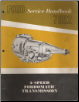 1961 Ford 2-Speed Fordomatic Transmission Service Handbook 7052 (SKU: 7794A)