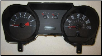 2006 - 2007 Ford Mustang Instrument Cluster Repair (4.0L, 4 Gauge, 120 MPH, 7000 RPM) (SKU: 7R3310849AC)