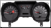 2006 - 2007 Ford Mustang Instrument Cluster Repair (4.6L, 4 Gauge, 140 MPH, 8000 RPM) (SKU: 7R3310849CC)
