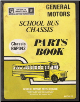 1979 - 1980 GM School Bus Chassis Parts Book - Chassis B6P042 (SKU: 80TMSB)