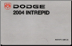 2004 Dodge Intrepid Owner's Manual (SKU: 812260401)