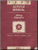 1990 Chrysler Front Wheel Drive Car - Factory Service Manual - Wiring Diagrams (SKU: 812700103)