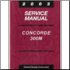 2003 Chrysler Concorde, 300M and Dodge Intrepid Service Manual (SKU: 8127003027)
