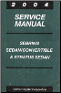 2004 Chrysler Sebring Sedan / Convertible & Dodge Stratus Sedan Service Manual (SKU: 8127004025)