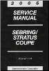 2005 Chrysler Sebring / Dodge Stratus Coupe Factory Service Manual - 4 Volume Set (SKU: 8127005031)