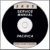 2005 Chrysler Pacifica Service Manual- CD-ROM (SKU: 8127005050CD)
