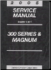 2005 Chrysler 300 & Dodge Magnum Service Manual - 4 Volume Set (SKU: 8127005060)
