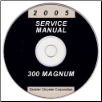 2005 Chrysler 300 & Dodge Magnum Service Manual- CD-ROM (SKU: 8127005065CD)