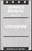 2006 Chrysler Crossfire Service Manual - 3 Volume Set (SKU: 8127006036)