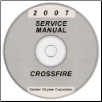 2007 Chrysler Crossfire (ZH) Service Manual on CD *XML & SVG* (SKU: 8127007036CD)