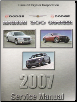 2007 Chrysler 300 & Dodge Charger, Magnum & SRT8 (LX) Service Manual - 5 Volume Set (SKU: 8127007065)