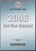 2008 Chrysler Crossfire (ZH) Service Manual - 3 Volume Set (SKU: 8127008036)