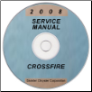2008 Chrysler Crossfire Factory Service Manual on CD (SKU: 8127008036CD)