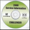 2008 Dodge Challenger Service Manual - CD Rom (SKU: 8127008041CD)