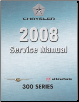2008 Chrysler 300 & Dodge Charger / Magnum (LX) Service Manual - 5 Volume Set (SKU: 8127008065)