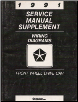 1991 Chrysler/Dodge Front Wheel Drive Passenger Car Factory Wiring Diagram Supplement Manual (SKU: 812701103A)