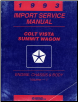 1993 Dodge Plymouth Eagle Colt Vista & Summit Wagon Factory Service Manual - 2 Vol. (SKU: 812703113)