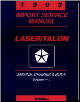 1993 Plymouth Laser & Eagle Talon Factory Service Manual - 2 Vol Set (SKU: 812703500-1)