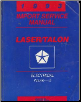 1993 Plymouth Laser / Eagle Talon Electrical Import Service Manual Volume 2 (SKU: 812703501)