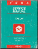 1995 Eagle Talon (BD) Service Manual - 2 Volume Set (SKU: 812705500-1)