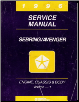1996 Chrysler Sebring & Dodge Avenger Service Manual (SKU: 812706117)