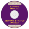 1996 Chrysler, Dodge, Plymouth Sebring, Stratus, Cirrus & Breeze (JA) Service Manual On CD (SKU: 812706122CD)