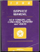 1996  Chrysler New Yorker / Chrysler LHS / Chrysler Concorde / Dodge Intrepid / Eagle Vision Service Manual (SKU: 812706140)
