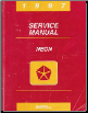 1997 Dodge Neon / Plymouth Neon Factory Service Manual (SKU: 812707025)
