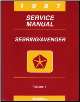 1997 Chrysler Sebring Dodge Avenger Factory Service Manual -2 Vol Set (SKU: 812707117-8)
