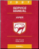 1997 Dodge Viper Coupe / Roadster Factory Service Manual (SKU: 812707150)