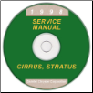 1998 Chrysler, Dodge, Plymouth Cirrus, Statrus, and Breeze Service Manual on CD-ROM (SKU: 812708121CD)