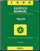 1998 Eagle Talon Service Manual Electrical Volume 2 (SKU: 812708501)